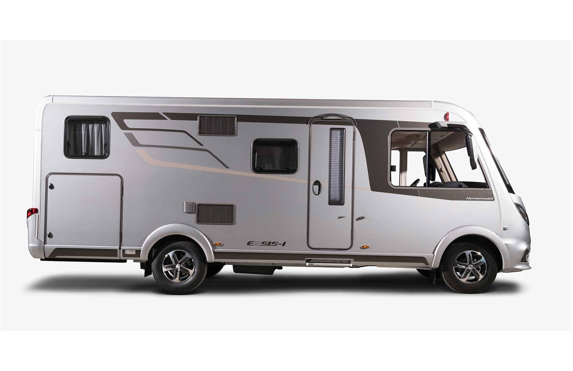 Caravan Zonder Badkamer : Van drogen campers & caravans hymer exsis i